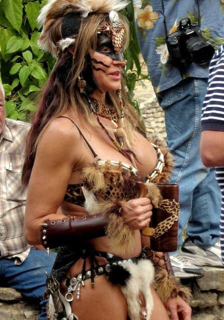 renfaire barbarian woman