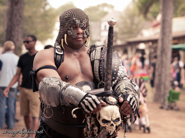 renfaire black barbarian guy