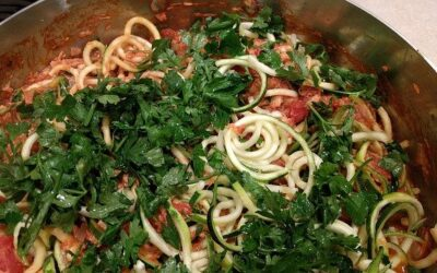 Zucchini Pasta & Special Sauce; an Italian Dish That Will Actually Help You Lose Weight